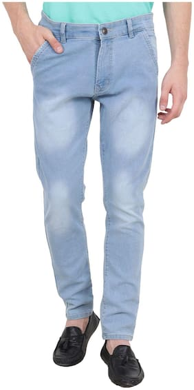 Trend Men Mid rise Slim fit Jeans - Blue