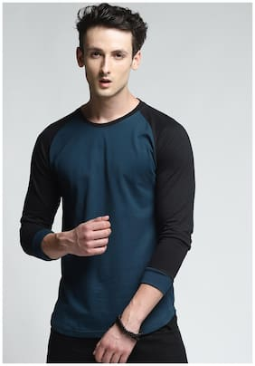 TRENDS TOWER Men Multi Regular fit Cotton Round neck T-Shirt - Pack Of 1