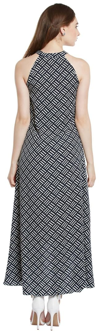 Full Length Low High Maxi Dress Trendy Women's Divva Crepe xwgTwIq