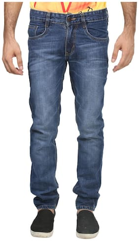 Trendy Trotters Men Mid rise Straight fit Jeans - Blue