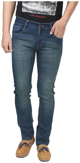 Trendy Trotters Men Blue Straight Fit Jeans