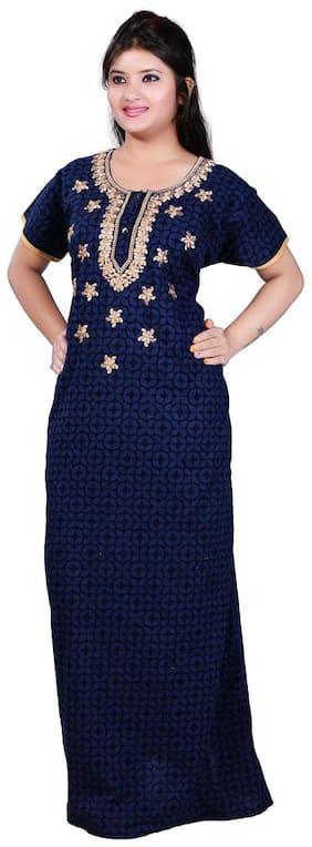 TRUNDZ Blue Night Gown