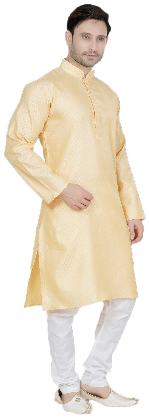 3603458bcf Buy Trustednsnap Ball Printed Cream Silk Kurta and Pyjama Set For Mens  Online at Low Prices in India - Paytmmall.com