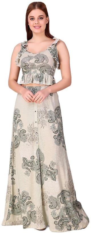 Texco Multi Printed A-line dress