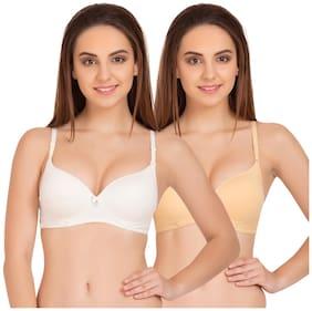 Tweens 2 Padded Cotton T-shirt bra - Multi