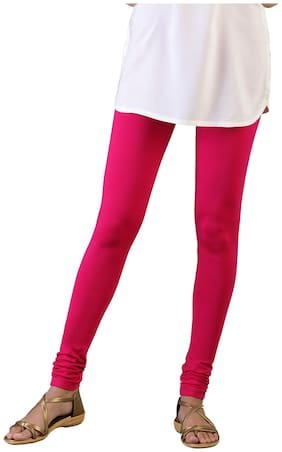 Twin Birds Cotton Leggings - Pink