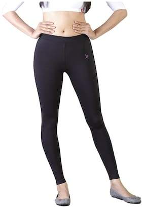 Cotton Solid Leggings