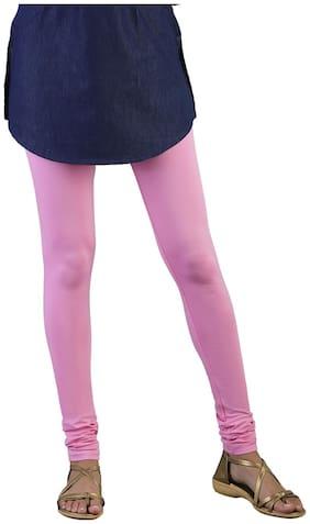 Twin Birds Cotton Leggings - Pink