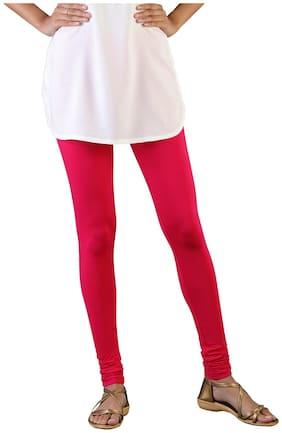 cbf4152ce22667 Twin Birds Women Cotton Churidar legging Pink color