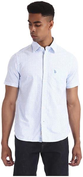 Men Regular Fit Printed Casual Shirt