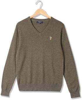 Men Wool Full Sleeves Sweater ,Pack Of Pack Of 1
