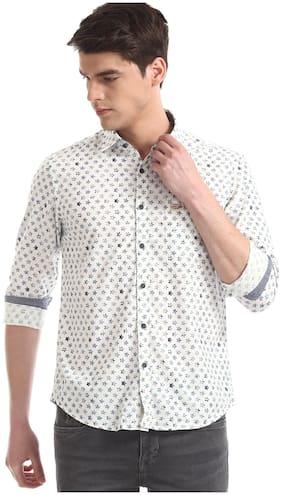 Men Slim Fit Ethnic Motifs Casual Shirt Pack Of 1