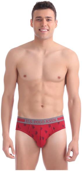 Men Cotton Printed Underwear