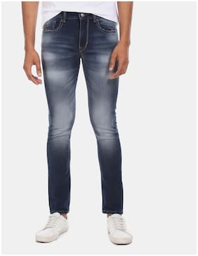 Men Tapered Fit Mid Rise Jeans Pack Of 1
