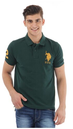 U.S. Polo Assn. Green Slim Fit TShirt