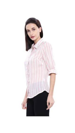 Chalk Pink S Women Shirt Assn U Polo q4Aw7