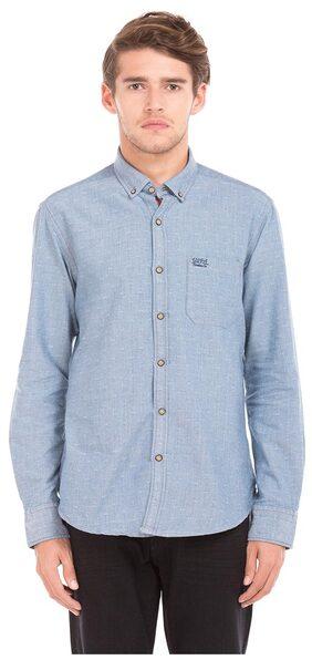 U.S. Polo Assn. Blue Men Slim Shirts