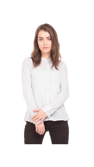 U.S. Polo Assn. Women White Shirt