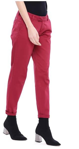 U Assn Trouser Maroon Women S Polo rrUT1f