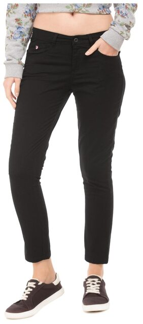 U.S. Polo Assn. Women Black Jeans
