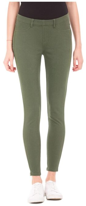 U.S. Polo Assn. Women Olive Jegging