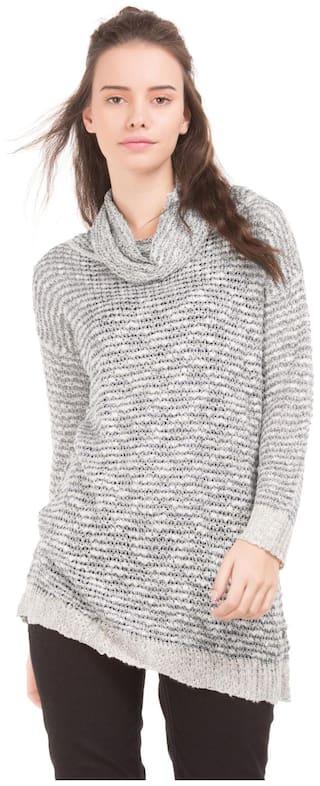 U.S. Polo Assn. Women Grey Top