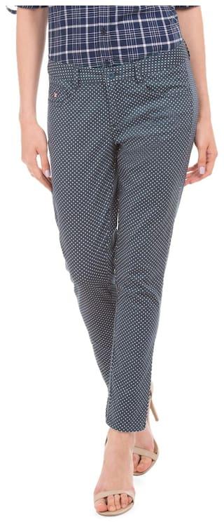 U.S. Polo Assn. Women Blue Trouser