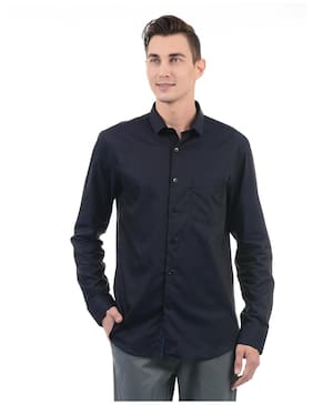U.S. Polo Assn. Men Slim Fit Casual shirt - Blue