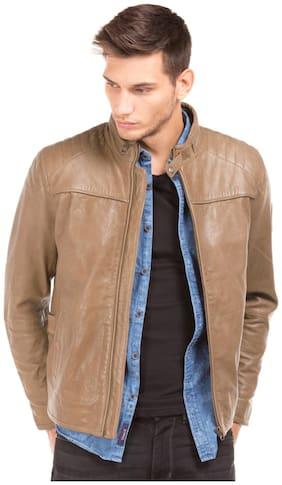 Men Leather Long Sleeves