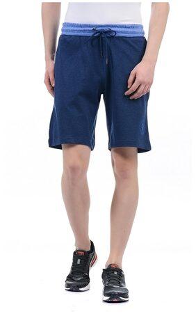 U.S. Polo Assn. Men Solid Blue Short Pack of 1