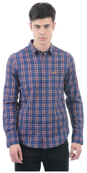U.S. Polo Assn. Men's Checkered Full Sleeve Shirt