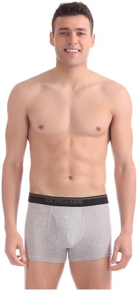 Men Blended Solid Underwear