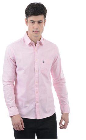 U.S. Polo Assn. Men's Solid Full Sleeve Shirt