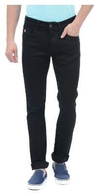 U.S. Polo Assn. Men Black Slim Fit Jeans