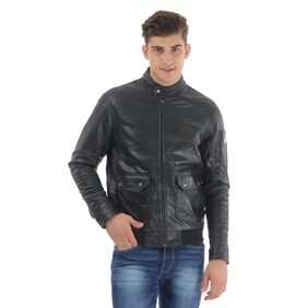 U.S.Polo Assn. Men's Solid Full Sleeves Jacket