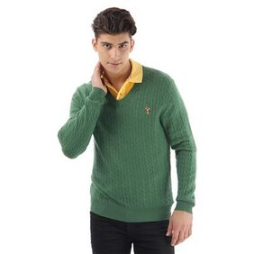 U.S. Polo Assn. Green Sweaters