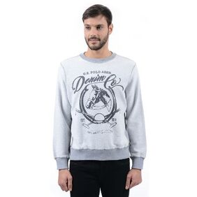 U.s. Polo Assn. Men's Printed Full Sleeve Sweat Shirt