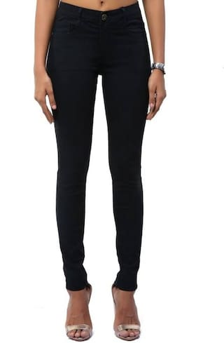 Black Women Slim Uber Urban Jeans EqHTwnxtUg