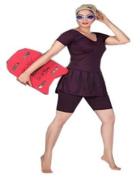 e2d8d016660 UNIQUE- LADIES   GIRLS   WOMEN SWIMMING COSTUME TRADITION PLAIN- SHORTS - SWIM WEAR