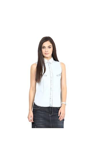Upperclass Upperclass Solid Solid Shirt Blue Ice Ice Blue Upperclass Shirt Ice aErUgqTa