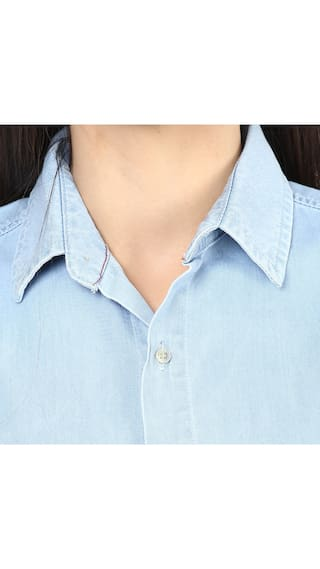 Upperclass Blue Upperclass Light Solid shirt Solid Light shirt Blue pfddqa