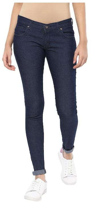 Urban Navy Women's Stretchable Skinny Fit Jeans