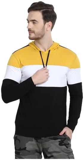 URBAN VIEW Men Multi Regular fit Cotton Hood T-Shirt - Pack Of 1