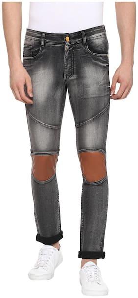 Urbano Fashion Men Mid rise Slim fit Jeans - Grey