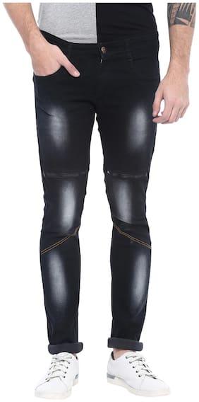 Urbano Fashion Men Low rise Slim fit Jeans - Black