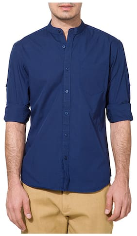 Urbano Fashion Men Regular Fit Casual shirt - Blue