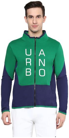 Urbano Fashion Men Cotton Sweatshirt - Green