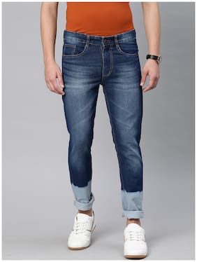 Men Slim Fit Mid Rise Jeans Pack Of 1