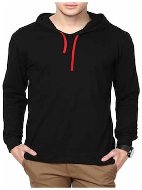 Men Solid Sweatshirt Pack Of 1