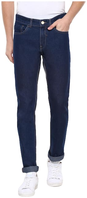 Urbano Fashion Men Mid rise Slim fit Jeans - Blue
